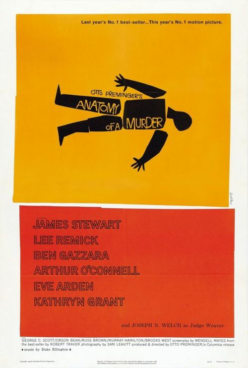 Movie poster by saul Bass. Image: Public Domain