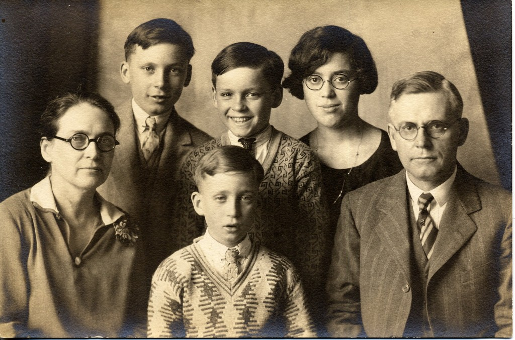 The photo was taken in Illinois in 1928, so my grandfather was about 13.