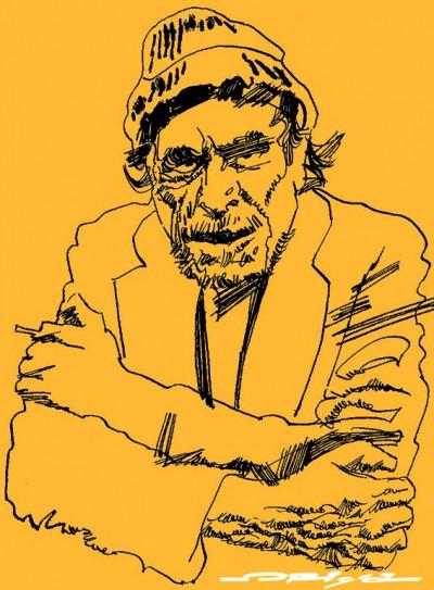 Charles Bukowski by Graziano Origa 2008 CC BY-SA 3.0