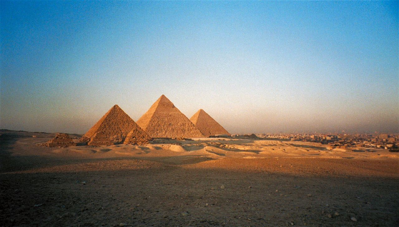 Great Pyramids by Flickr User Bruno Girin (CC BY-SA 2.0)