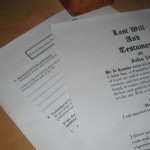 Last Will and Testament by Flickr user Ken_Mayer (CC BY 2.0)