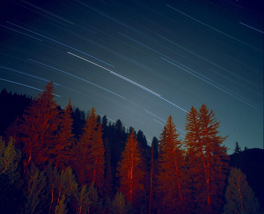 Star trails. Photo: Public Domain