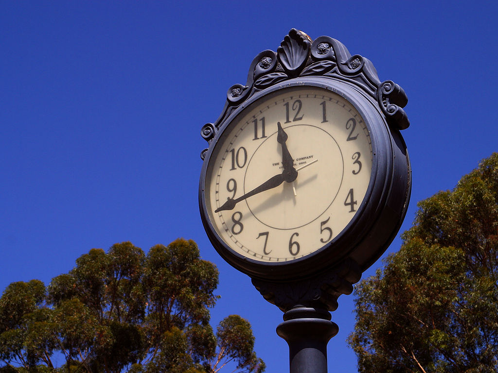 This is a clock. (Photo: Public Domain)