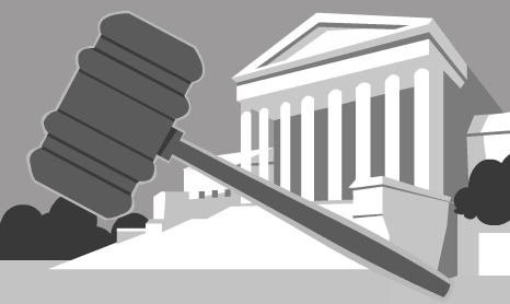 The Judicial Branch. Image: iCivics.org