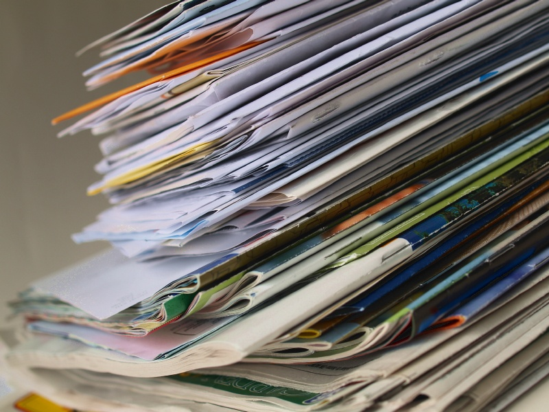 Pile of mail. Not mine, but it totally could be. By Flickr user uzvards (CC BY-SA 2.0)