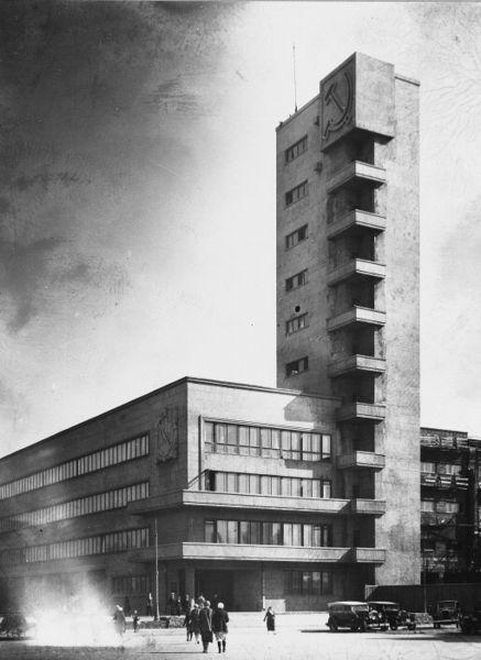 Constructivist Architecture. Image: Public Domain