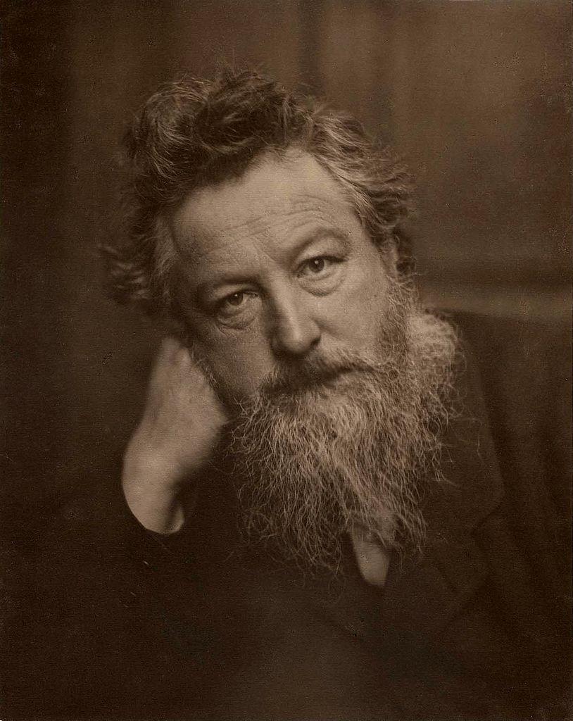William Morris, age 53. Image: Public Domain