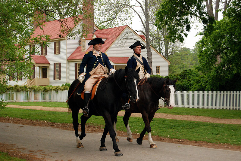 Colonial Williamsburg by Wikimedia user Harvey Barrison (CC BY-SA 2.0)