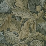 William Morris's Acanthus Wallpaper, 1875. Image: Public Domain