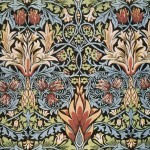 William Morris's Snakeshead printed textile, 1876. Image: Public Domain