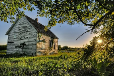 One Room Schoolhouse in Sumner County, Kansas by Flickr user Lane Pearman  (CC BY 2.0)