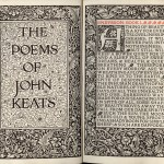 William Morris's Illustration of 'Poems of John Keats'. Image: Kelmscott Press