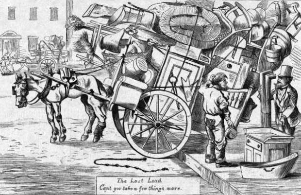 Moving Day. Image: Public Domain