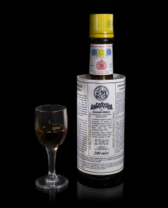 Angostura aromatic bitters by Wikimedia user Didier Descouens CC BY-SA 3.0