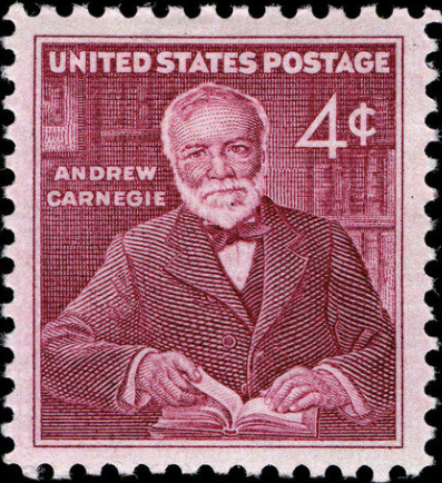 Stamp-andrew-carnegie PD