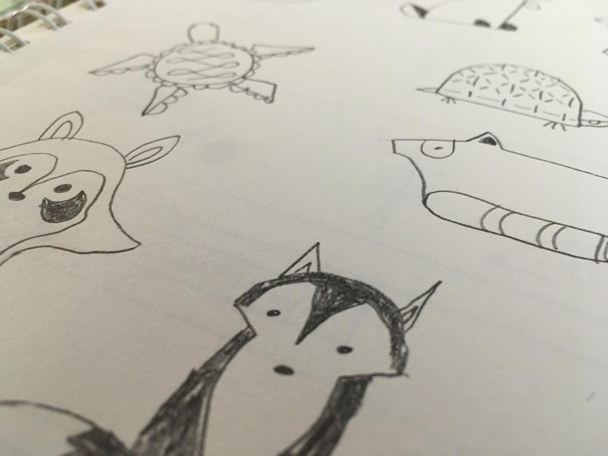Sketches and photo: Jenny Bristol
