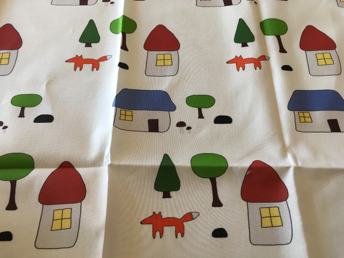 My fabric! I call it Woodland Escape. Images and photo: Jenny Bristol
