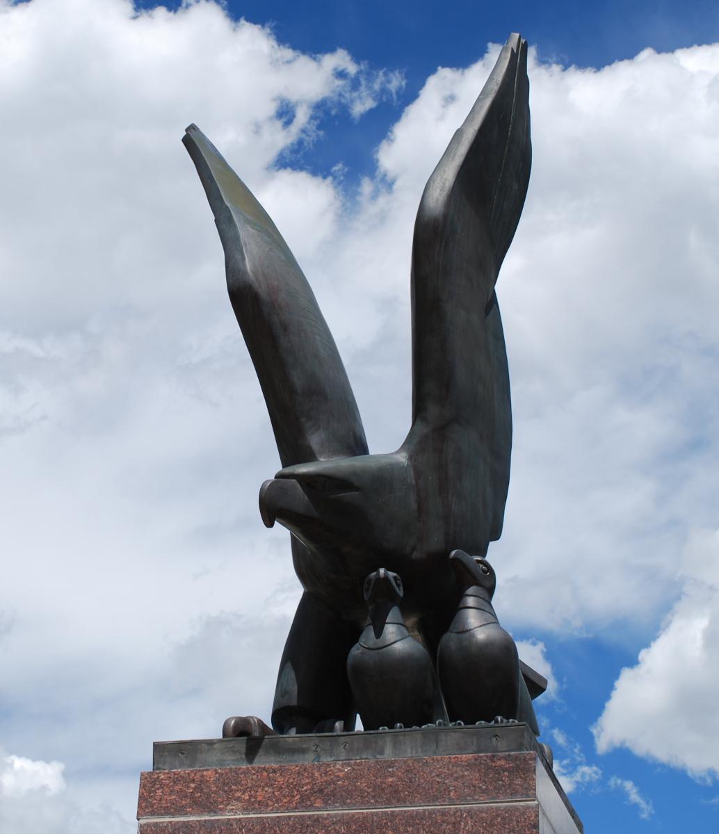 An awesome statue. Photo: Jenny Bristol