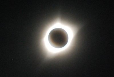 Totality. Photo: Jenny Bristol