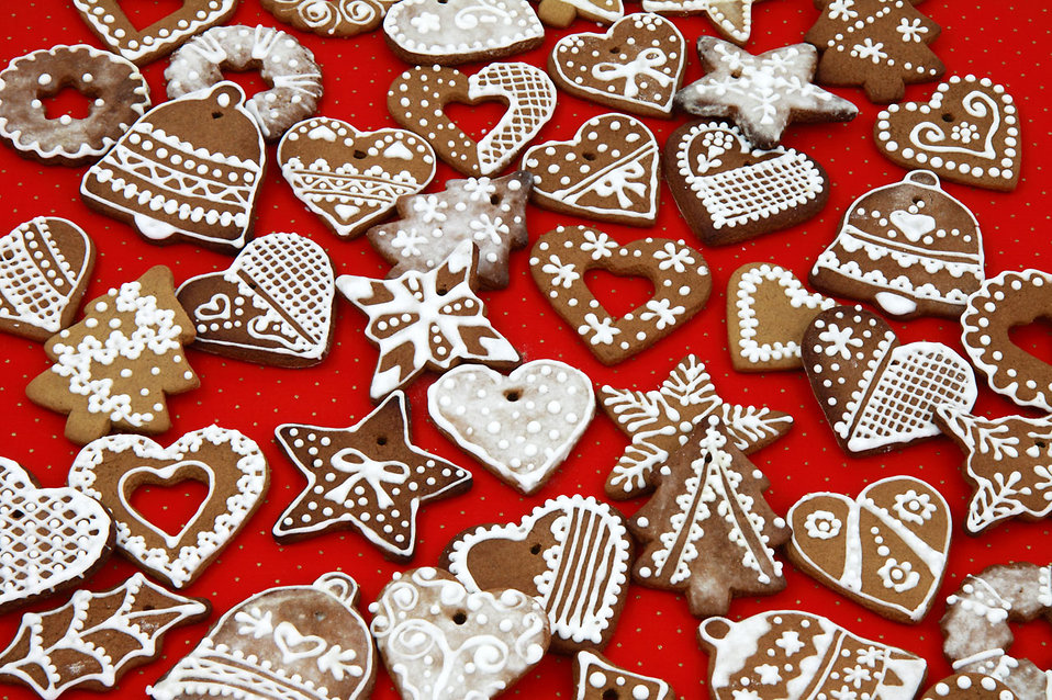 Gingerbread isn't just for Christmas. Image: Public Domain