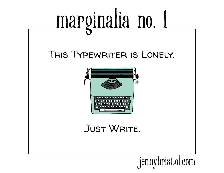 Marginalia no. 1 to post