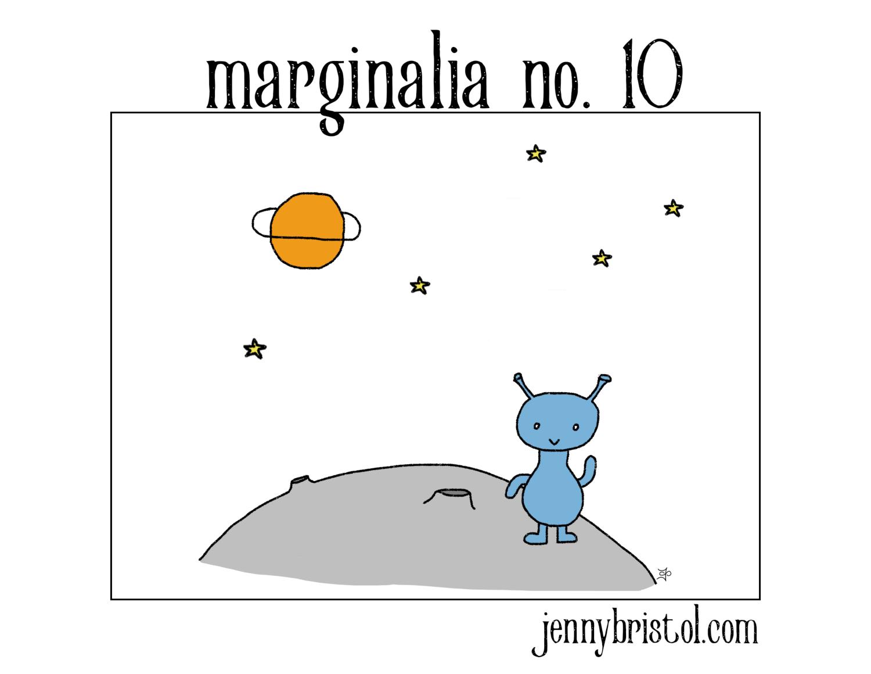 Marginalia no. 10 to post