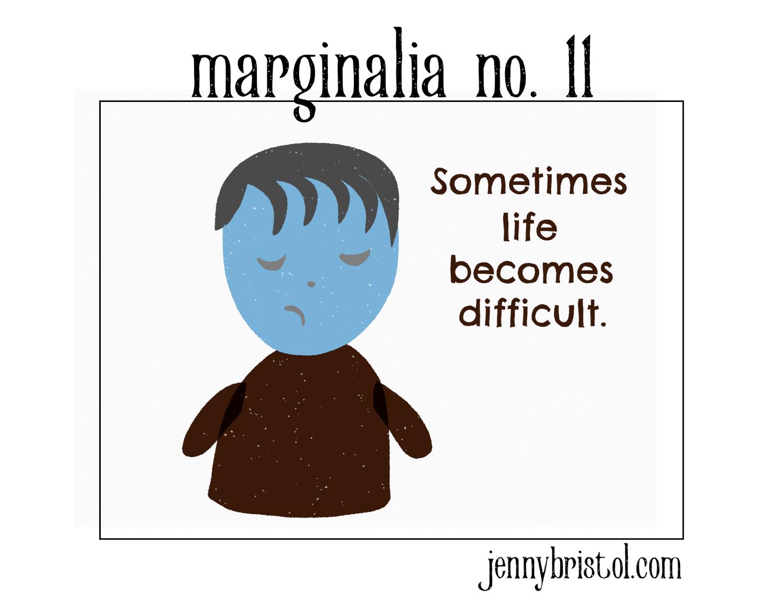 Marginalia no. 11 to post