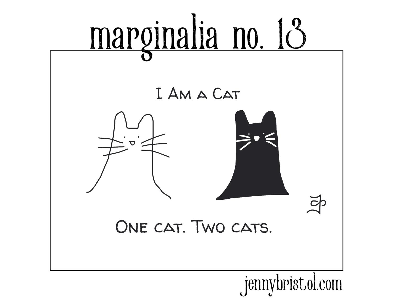Marginalia no. 13 to post