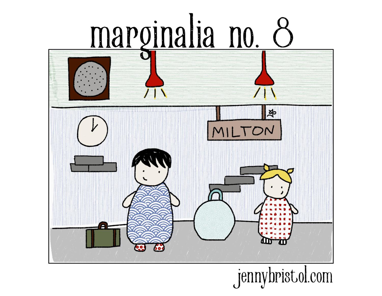 Marginalia no. 8 to post