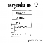 Marginalia no. 19 to post