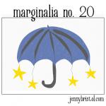 Marginalia no. 20 to post