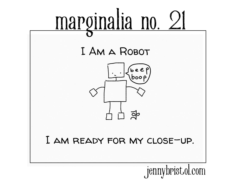 Marginalia no. 21 to post