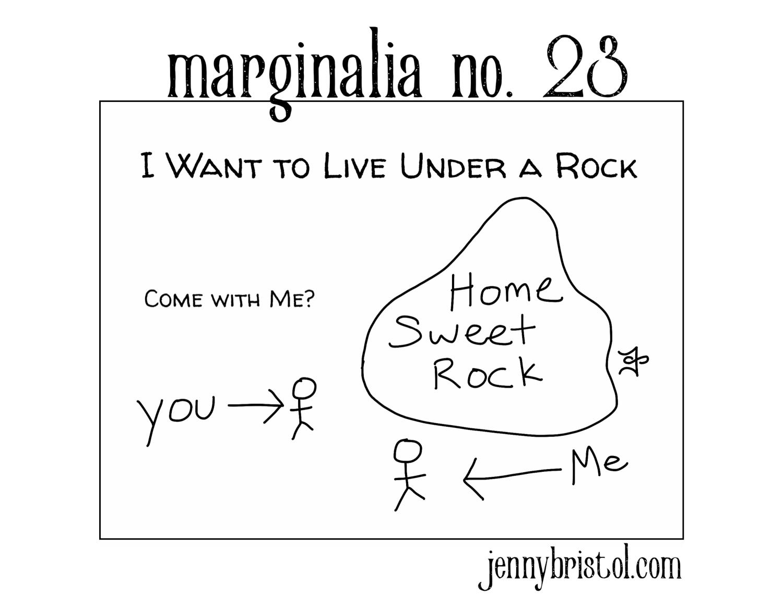 Marginalia no. 23 to post