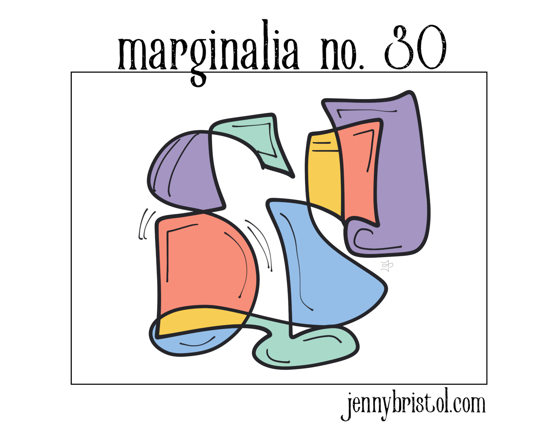 Marginalia no. 30 to post
