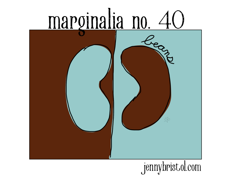 Marginalia no. 40 to post