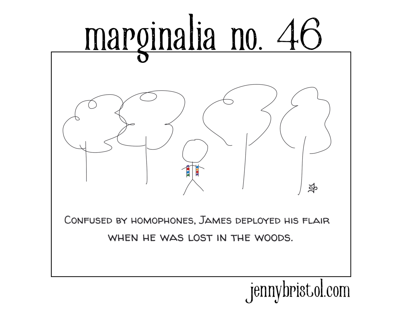 Marginalia No. 46 to post