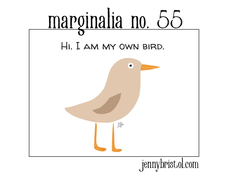 Marginalia No. 55 to post