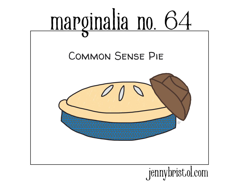 Marginalia No. 64 to post