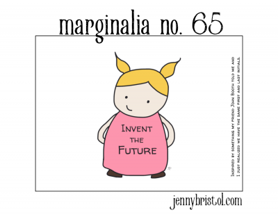 Marginalia No. 65 to post