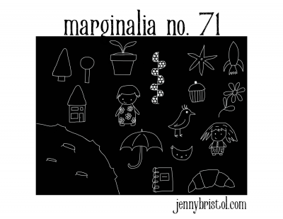 Marginalia No. 71 to post