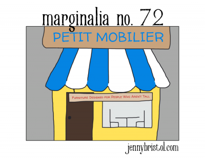 Marginalia No. 72 to post