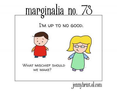 Marginalia No. 73 to post