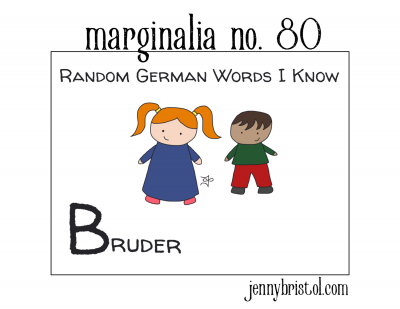 Marginalia No. 80 to post