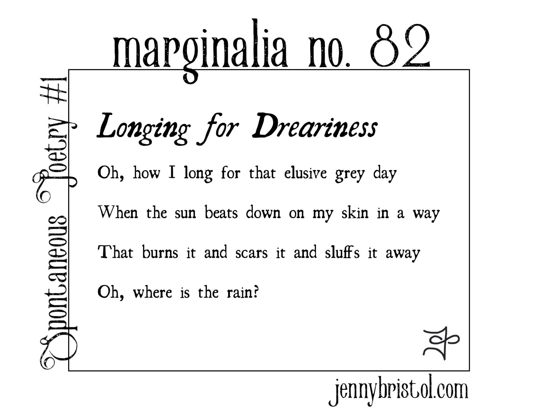 Marginalia no. 82 to post